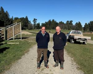 Farmers Bob and Alan Johnston are giving back to their community through Advance Ashburton, which...