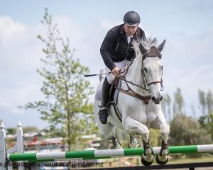 Canterbury A&P Association president Chris Harris has represented New Zealand in showjumping...