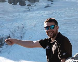 Dan Harrison, of Lister Helicopters, was killed in a helicopter crash yesterday. Photo: Supplied