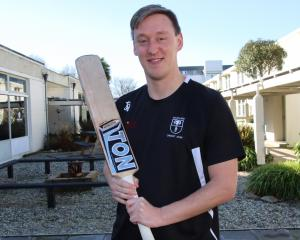 Southland Cricket development officer Jack Hilton, originally from Scotland but in Gore on a work...