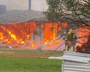 A family that recently left Gloriavale has lost everything in a house fire. Photo: Supplied
