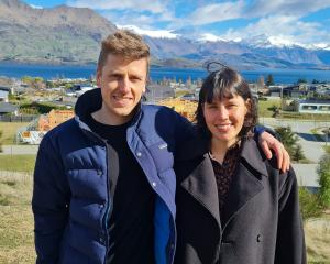Kester Black founder Anna Ross, of Wanaka, with her partner in life and business, Fergus Sully....