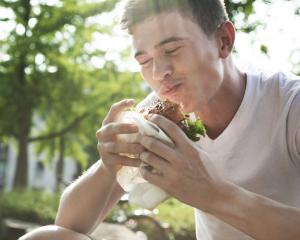 Free hamburgers will be on offer at walk-in vaccination clinics at Canterbury University. Photo:...