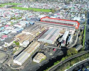 The former fabrication shop at Hillside Workshops is to be demolished in a seven-month-long...