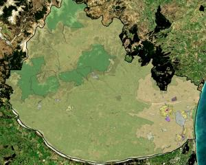 The new general zone in light green takes up much of the western area of the Waimakariri District...