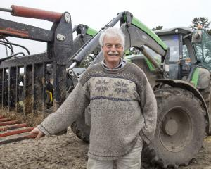 Gavin King started small but built up a large family farming enterprise.  Photo: Geoff Sloan
