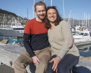 Benjamin Gellie and Laurie Brunot. Photo: Geoff Sloan
