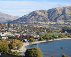 Wanaka's central business district. PHOTO: ODT FILES