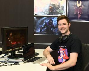 Josiah Hunt is thrilled to have received funding for an action-role playing game that he has been...