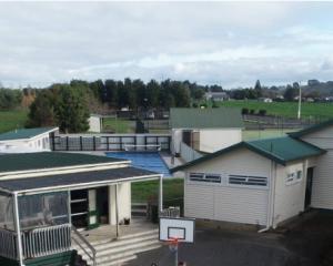 Mangatangi School is a small elementary school in rural Waikato. Photo: Supplied via NZ Herald