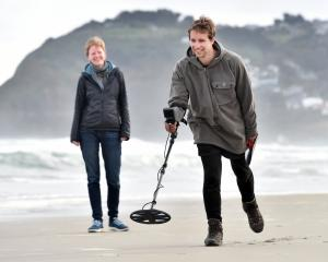 Dunedin metal detectorist Ben Goldsworthy continues his search for a suitable wedding ring, which...