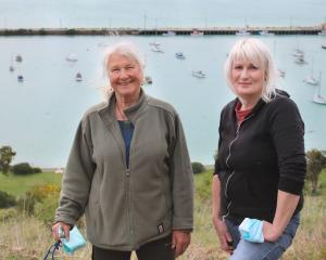 Friends of Oamaru Harbour co-ordinators Vicki Jayne (left) and Katrina Hazelhurst are inviting...