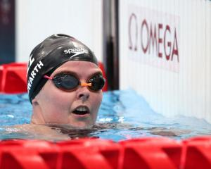 Nikita Howarth finished fifth in her heat of the 50m S7 butterfly and will race in the final...