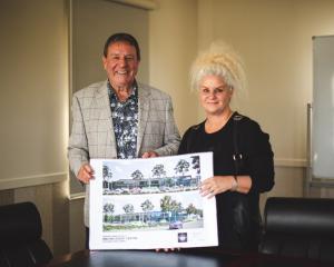 Doug and Donna Hurst are donating $5million to the Waitaki Event Centre project. PHOTO: REBECCA RYAN