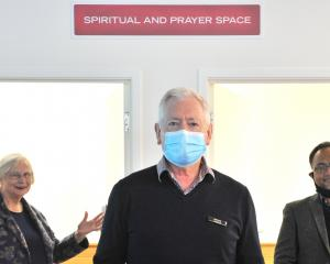 A handful of people have used the Dunedin city library's spiritual and prayer space since its...