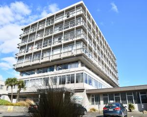 Invercargill's Menzies Building will be converted into a 150-room hotel. PHOTO: LAURA SMITH