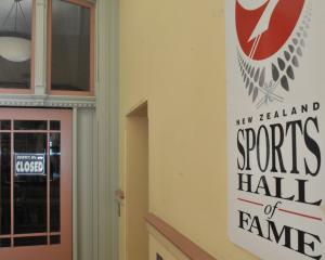 The New Zealand Sports Hall of Fame  faces an uncertain future.  PHOTO: GREGOR RICHARDSON