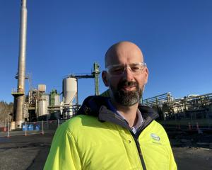 Fonterra's general manager of operations for the lower South Island, Richard Gray, pictured at...