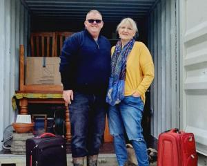 Chris and Saskia Trembath set off from Fielding in  Manawatu to take over the Blacks Hotel at...