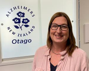Newly appointed Alzheimers Otago manager Antoinette McLean. PHOTO: BRENDA HARWOOD