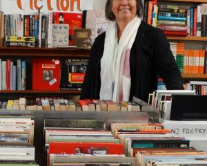 The keen Regent Theatre 24 Hour Book Sale team, led by Alison Cunningham (pictured), will be out...