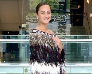 Otago Museum science engagement co-ordinator, kaupapa Maori, Toni Hoeta wears an Arahanga family...
