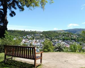 The Point lookout offers views across the city.  PHOTO: SUPPLIED