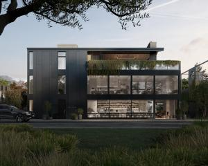 A rendering of the proposed new Brownston St boutique hotel, which is planned to open in the...