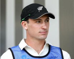 Will Young scored almost 50 percent of the Black Caps' runs. Photo: Getty