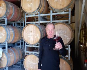 Quartz Reef winemaker Rudi Bauer has been named a New Zealand Winegrowers Fellow. PHOTO: JARED...