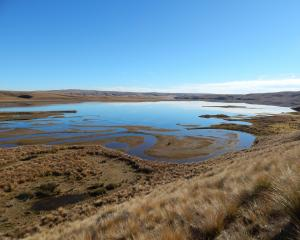 Lake Onslow, near Roxburgh. PHOTO: JARED MORGAN