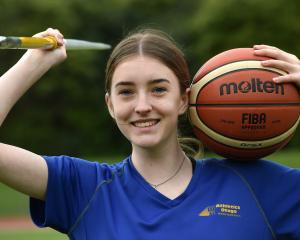 Alexa Duff (14) at the Caledonian Ground on Thursday, having represented New Zealand at a global...