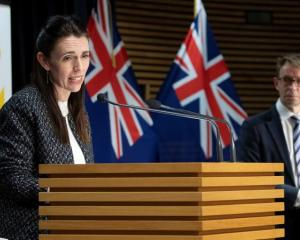 Prime Minister Jacinda Ardern and Dr Ashley Bloomfield. Photo: NZME