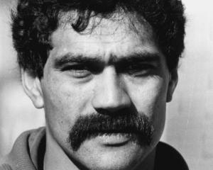Bernie Fraser played 23 times for the Al Blacks from 1979 to 1984. Photo: Getty Images