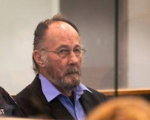 Stewart Murray Wilson in the dock during his sentencing in the High Court at Auckland. Photo: NZ...