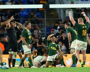 The victory was a reward for the Springboks showing much more adventure but just as much grit and...