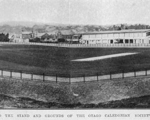 Improvements to the Otago Caledonian Society stand and ground, South Dunedin. — Otago Witness,1...
