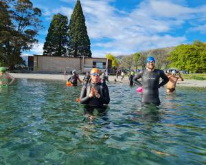 Wanaka Lake Swimmers Club began the open water swimming season yesterday, with a swim in Roys Bay...