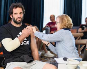 Sam Whitelock got his Covid-19 vaccination on July 29. Photo: Getty Images
