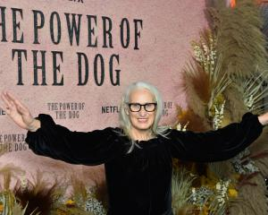 Jane Campion at the The Power Of The Dog premiere in Paris on October 18. Photo: Stephane...