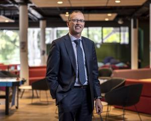Prof Grant Edwards will take over as Lincoln University vice-chancellor in January. PHOTO:...