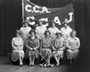 Cashmere Ladies Croquet Club (1930). Photo: Canterbury Museum, 1980.175.96