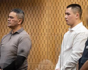 Juan Marsh (left) and Curtis Wealleans during their trial for murdering Brendon Alexander Ross....
