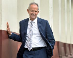 Outgoing Children's Commissioner Judge Andrew Becroft in Dunedin yesterday. PHOTO: PETER MCINTOSH