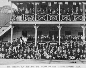The Kaituna Bowling Club holds its opening day for the season on October 8, 1921. - Otago Witness...
