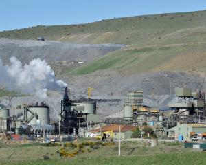 Common areas of the Macraes mine processing plant were given a deep clean yesterday. PHOTO:...