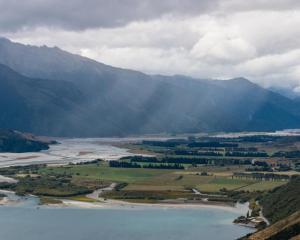 The Makarora River flows into Lake Wanaka. Photo: Getty