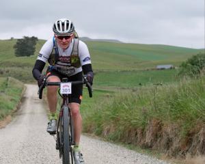 Karitane's Peter Oakden, who has Parkinson's disease, will take part in the White Rocks Gravel...