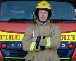 Twizel volunteer firefighter Logan Cunningham was one of the first firefighters on the scene of...