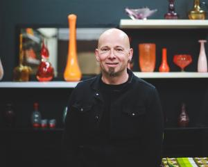 Ben Blair opened his new antiques store, Vintage Ben Antiques, in Oamaru's Thames St. PHOTO:...